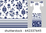 stylized persian ornament....   Shutterstock .eps vector #642337645