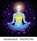 vector illustration beautiful... | Shutterstock .eps vector #642341746
