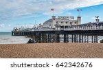 view of the victorian brighton... | Shutterstock . vector #642342676