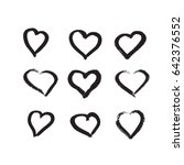 vector art illustration grunge... | Shutterstock .eps vector #642376552