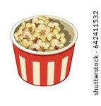 pop corn | Shutterstock .eps vector #642411532