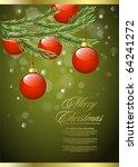 vector background on the... | Shutterstock .eps vector #64241272