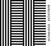 seamless pattern with black...   Shutterstock .eps vector #642419848