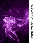 toxic purple smoke. | Shutterstock . vector #642426526