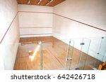 Squash Room With Parquet Floor...
