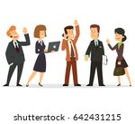 business team. a group of... | Shutterstock .eps vector #642431215