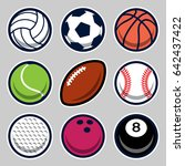 balls | Shutterstock .eps vector #642437422