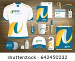 gift items  color promotional... | Shutterstock .eps vector #642450232