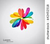 abstract spa health beauty logo ...   Shutterstock .eps vector #642452518