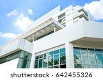 modern public hospital building | Shutterstock . vector #642455326