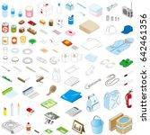 disaster prevention goods ... | Shutterstock .eps vector #642461356