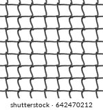 tennis net seamless pattern... | Shutterstock .eps vector #642470212