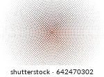 dark red vector pattern with... | Shutterstock .eps vector #642470302