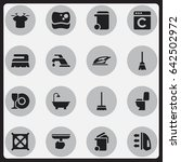 set of 16 editable cleanup...
