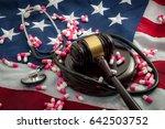 affordable care act legislation ... | Shutterstock . vector #642503752