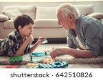 Grandpa And Grandson Are...