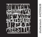 skate board sport typography ...   Shutterstock .eps vector #642530638