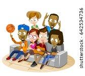 vector cartoon illustration of...   Shutterstock .eps vector #642534736