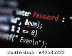 computer security concept.... | Shutterstock . vector #642535222