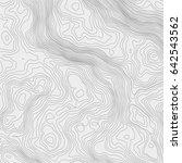 topographic map background... | Shutterstock .eps vector #642543562