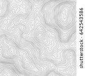 topographic map background... | Shutterstock .eps vector #642543586