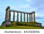 scottish national monument  to... | Shutterstock . vector #642560056