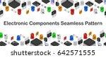 seamless gorisontal pattern... | Shutterstock .eps vector #642571555