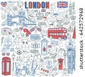 London Doodle Set. Landmarks ...
