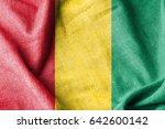 guinea cotton flag | Shutterstock . vector #642600142