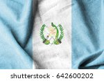 guatemala cotton flag | Shutterstock . vector #642600202
