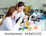 young medical technicians...   Shutterstock . vector #642651232