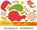 education paper game for... | Shutterstock .eps vector #642660562