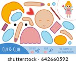 education paper game for... | Shutterstock .eps vector #642660592
