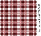 seamless plaid lumberjack and... | Shutterstock .eps vector #642680632