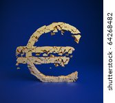euro currency symbol cramles... | Shutterstock . vector #64268482