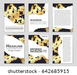 abstract vector layout... | Shutterstock .eps vector #642685915