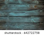 brown  turquoise  and teal wood ... | Shutterstock . vector #642722758