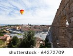 the famous ancient aqueduct in... | Shutterstock . vector #64272709