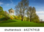 monopteros temple in the... | Shutterstock . vector #642747418