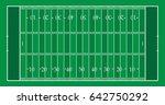 illustrated american football... | Shutterstock .eps vector #642750292