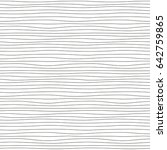 hand drawn striped seamless... | Shutterstock .eps vector #642759865