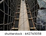 ropeway  carrick a rede ... | Shutterstock . vector #642765058