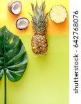 Summer Dessert With Pineapples...