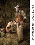 Authentic Old West Cowboy...