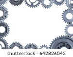 a custom frame created out of... | Shutterstock . vector #642826042