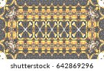 colorful mosaic pattern for...   Shutterstock . vector #642869296