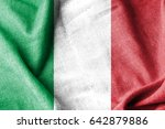 italy cotton flag | Shutterstock . vector #642879886