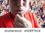 referee. | Shutterstock . vector #642897616