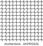 tennis net seamless pattern... | Shutterstock .eps vector #642902626