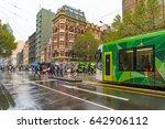 melbourne  australia   april 21 ... | Shutterstock . vector #642906112